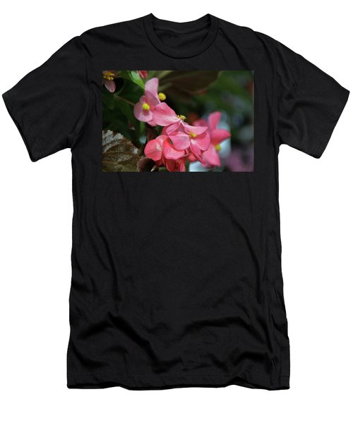 Begonia Beauty Men's T-Shirt (Athletic Fit)