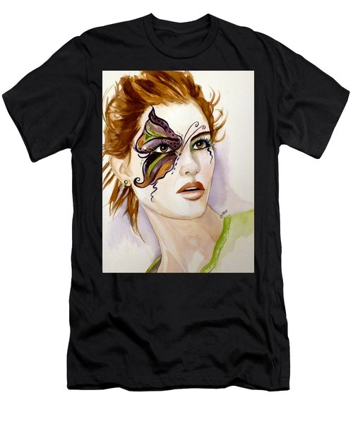 Behind The Mask Men's T-Shirt (Athletic Fit)