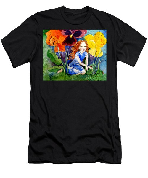 Tiny Flower Fairy Men's T-Shirt (Athletic Fit)