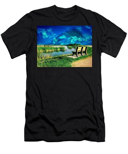 Believe In Your Dreams Men's T-Shirt (Slim Fit) by Carlos Avila