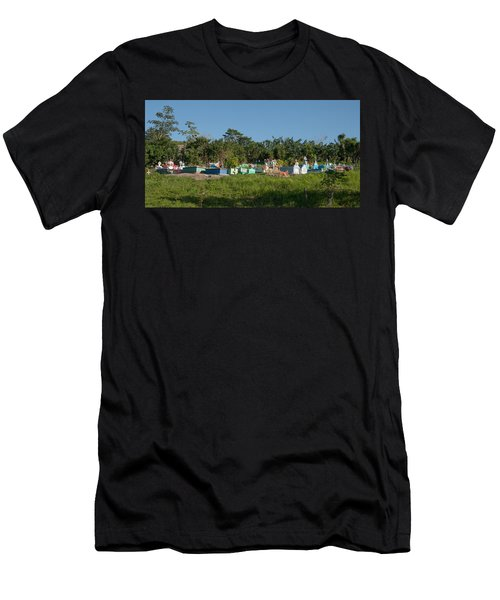 Belize Cemetery Men's T-Shirt (Athletic Fit)