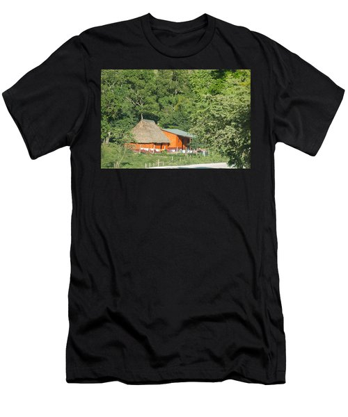 Belize House Men's T-Shirt (Athletic Fit)