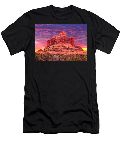 Bell Rock Sunset Men's T-Shirt (Athletic Fit)