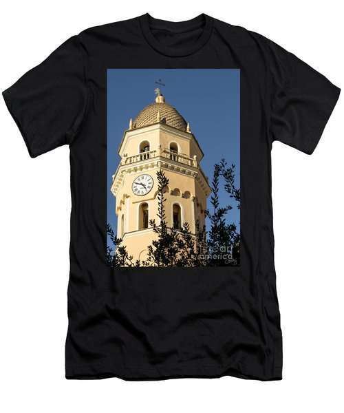 Bell Tower Of Vernazza Men's T-Shirt (Athletic Fit)