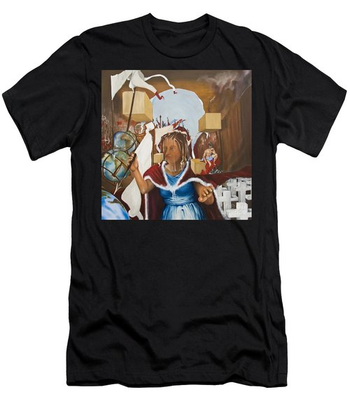 Bellona Goddess Of War Sister Of Mars Men's T-Shirt (Athletic Fit)