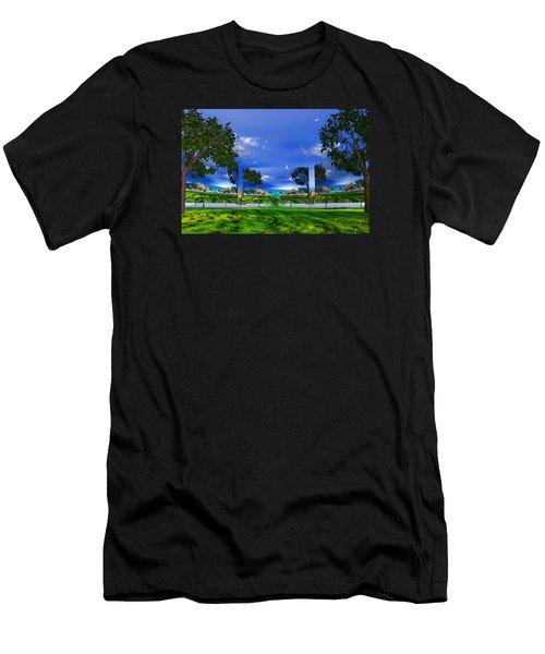Men's T-Shirt (Slim Fit) featuring the photograph Belonging by Mark Blauhoefer