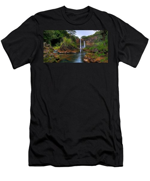 Below Wailua Falls Men's T-Shirt (Athletic Fit)