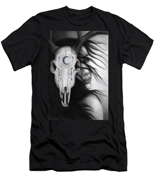 Men's T-Shirt (Slim Fit) featuring the painting Beltane by Pat Erickson