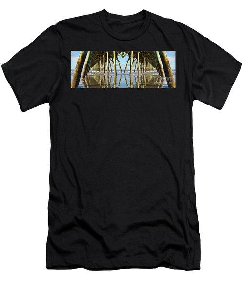 Beneath The Pier Men's T-Shirt (Athletic Fit)