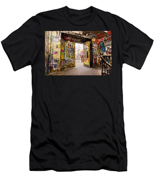 Berlin - The Kunsthaus Tacheles Men's T-Shirt (Slim Fit) by Luciano Mortula
