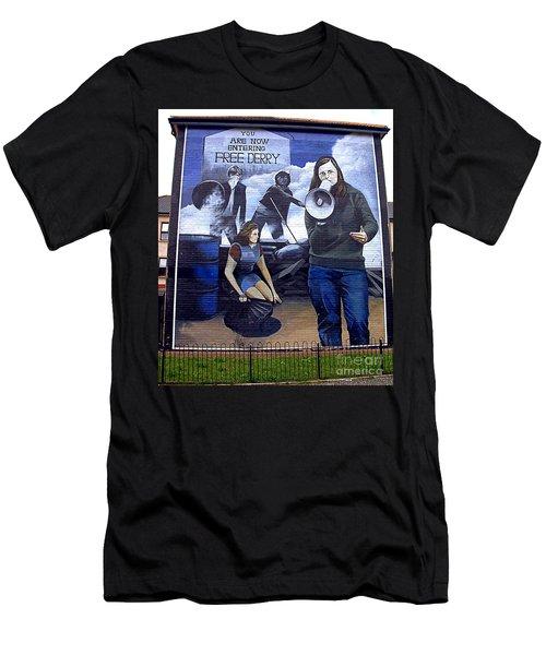 bernadette II Men's T-Shirt (Athletic Fit)