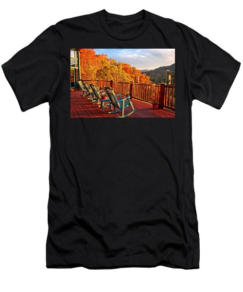Best View In Town  Men's T-Shirt (Athletic Fit)