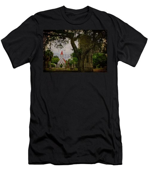 Bethany Cemetery Entryway Men's T-Shirt (Athletic Fit)