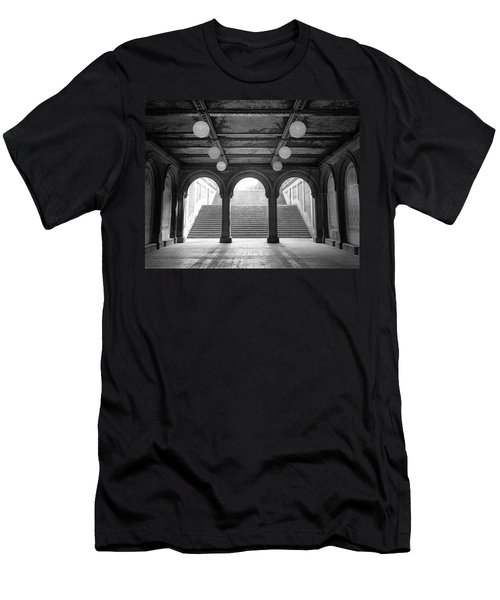Bethesda Passage Central Park Men's T-Shirt (Athletic Fit)