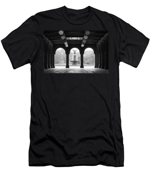 Bethesda Terrace  1990s Men's T-Shirt (Athletic Fit)