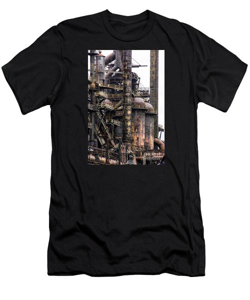 Bethlehem Steel Series Men's T-Shirt (Slim Fit) by Marcia Lee Jones