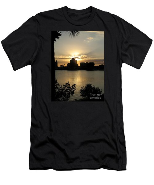 Between Day And Night Men's T-Shirt (Slim Fit) by Christiane Schulze Art And Photography