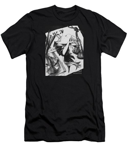 Between Dream And Reality Men's T-Shirt (Slim Fit) by Yvonne Wright