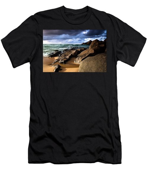 Between Rocks And Water Men's T-Shirt (Athletic Fit)
