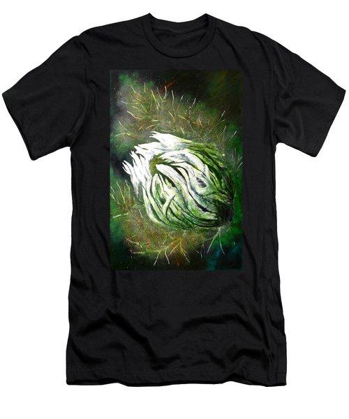 Beware Of The Thorns Men's T-Shirt (Slim Fit) by Maris Sherwood