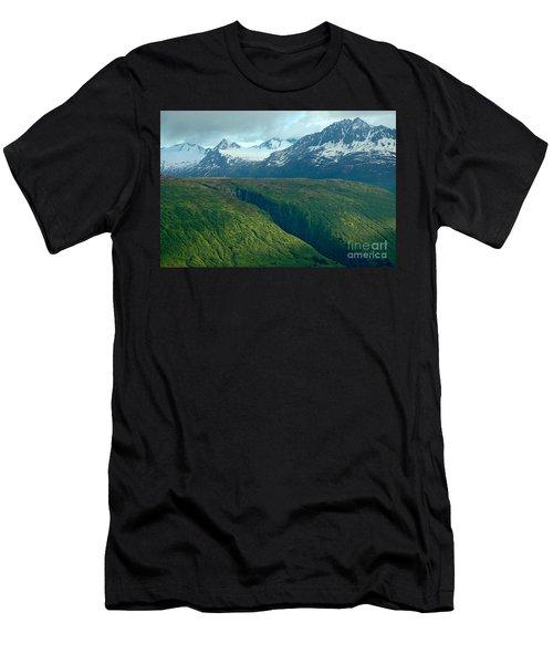Beyond Description Men's T-Shirt (Slim Fit) by Nick  Boren