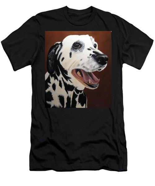 Bianca Rob's Dalmatian Men's T-Shirt (Athletic Fit)