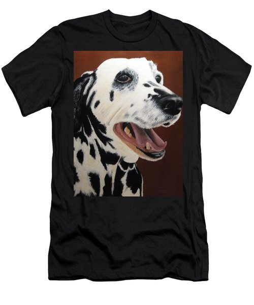 Bianca Rob's Dalmatian Men's T-Shirt (Athletic Fit)
