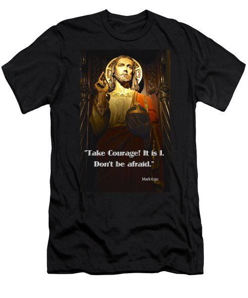 Bible Quote  Mark 6  50 Men's T-Shirt (Athletic Fit)