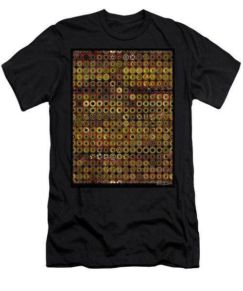 Biding Time In The Gold Flocked Basement Twixt Death And Funeral Men's T-Shirt (Athletic Fit)
