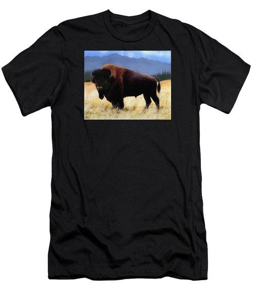 Big Bison Men's T-Shirt (Athletic Fit)