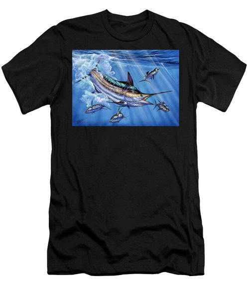 Big Blue And Tuna Men's T-Shirt (Athletic Fit)