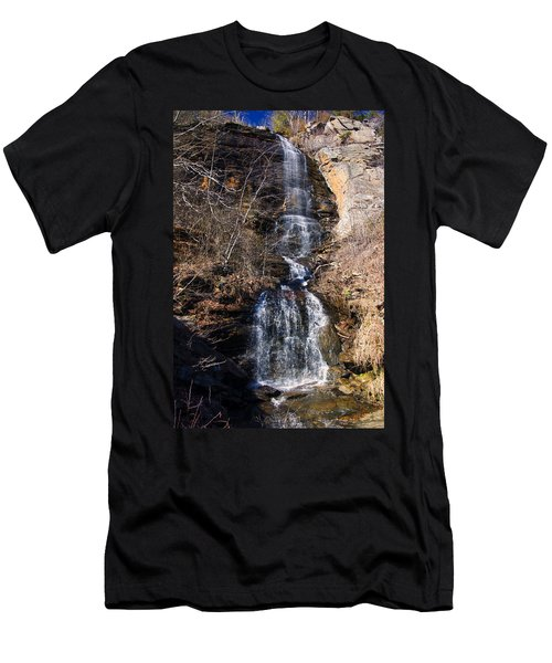 Big Bradley Falls 2 Men's T-Shirt (Slim Fit) by Chris Flees