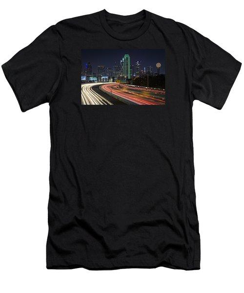 Big D Men's T-Shirt (Slim Fit) by Rick Berk