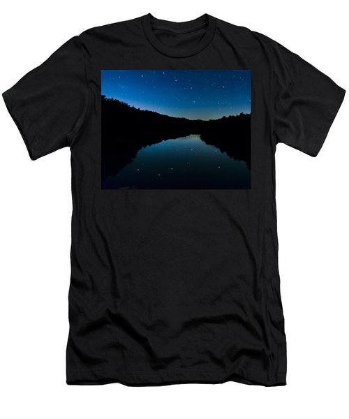 Big Dipper Reflection Men's T-Shirt (Athletic Fit)