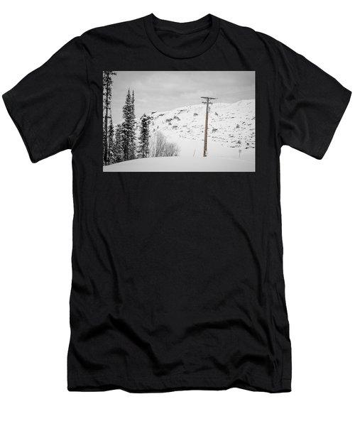 Big Horn Sheep Hinton Hillside Men's T-Shirt (Athletic Fit)