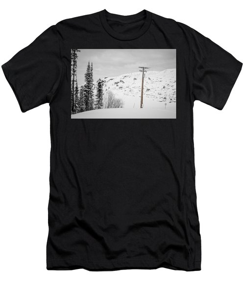 Big Horn Sheep Hinton Hillside Men's T-Shirt (Athletic Fit)