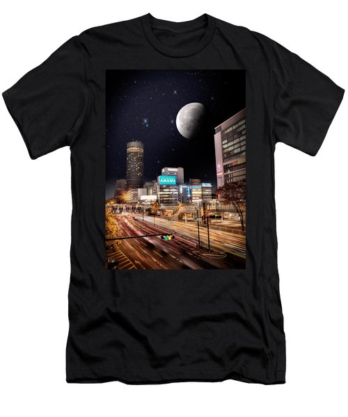 Big Moon Yokohama Men's T-Shirt (Athletic Fit)