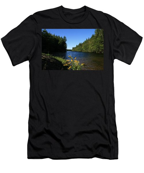 Men's T-Shirt (Slim Fit) featuring the photograph Bigelow Hollow  by Neal Eslinger