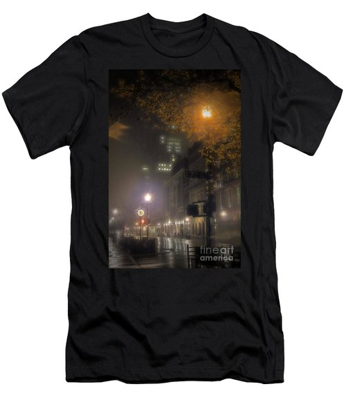 Men's T-Shirt (Slim Fit) featuring the photograph Bigga Mist by Robert McCubbin