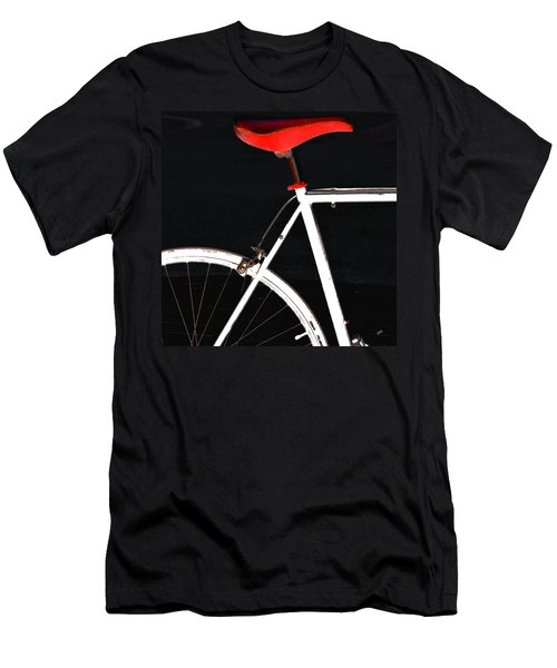 Bike In Black White And Red No 1 Men's T-Shirt (Athletic Fit)