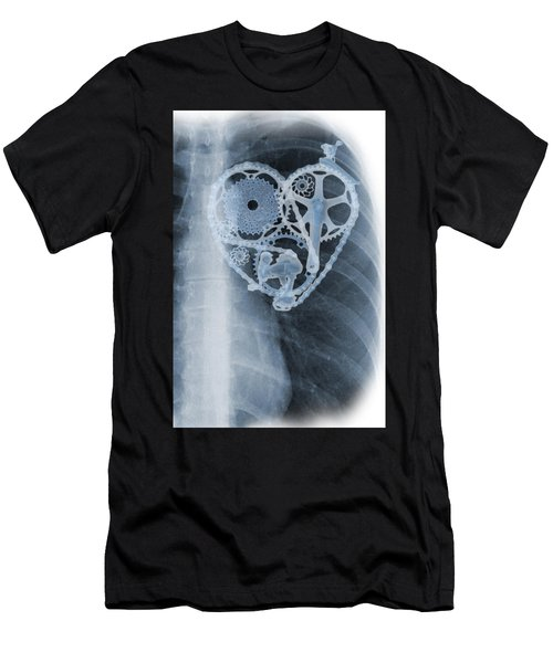 bike lover X-ray Men's T-Shirt (Athletic Fit)