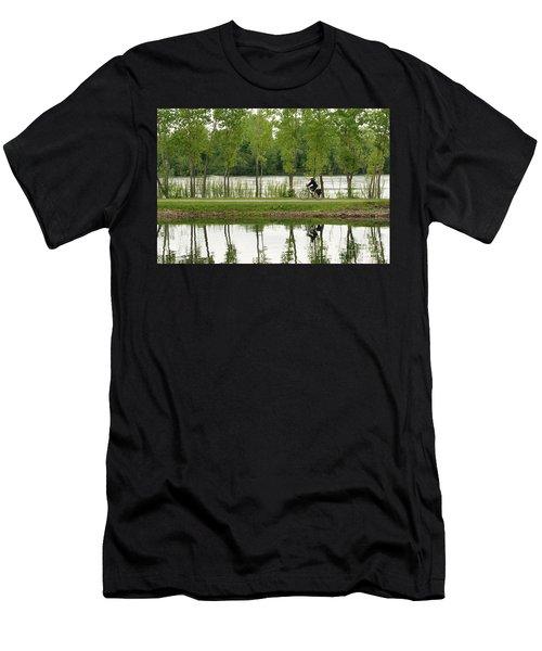 Bike Path Men's T-Shirt (Athletic Fit)
