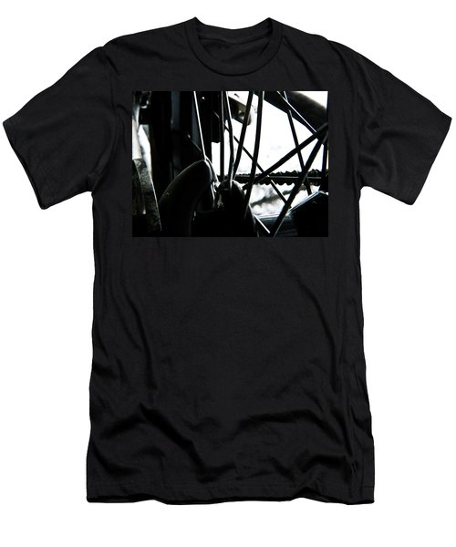 Bike Wheel Men's T-Shirt (Athletic Fit)