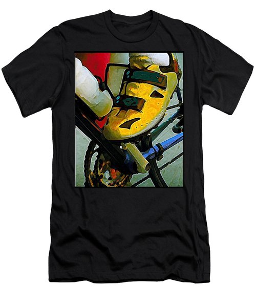 Biker Boy Foot Men's T-Shirt (Athletic Fit)