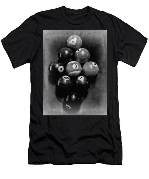 Billiards Art - Your Break - Bw  Men's T-Shirt (Athletic Fit)