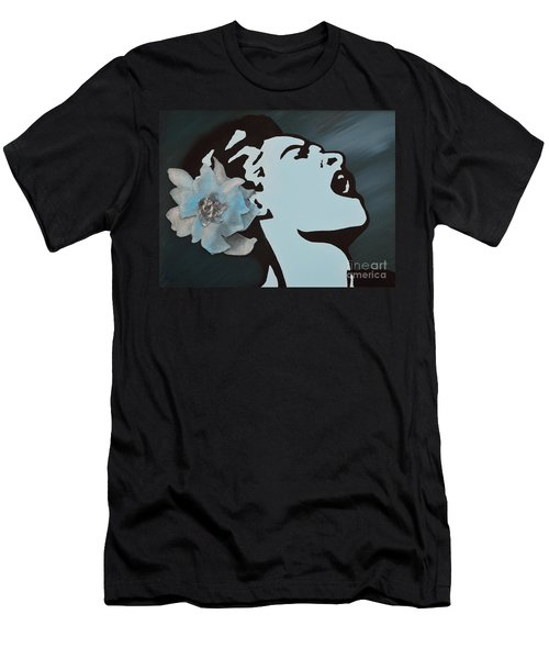 Billie Holiday Men's T-Shirt (Athletic Fit)