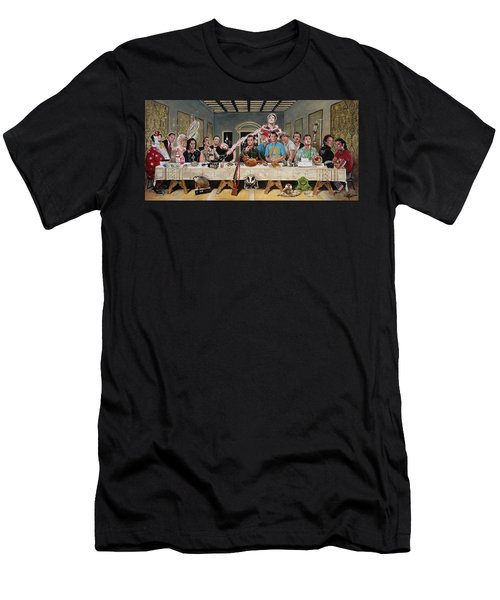 Bills Last Supper Men's T-Shirt (Athletic Fit)
