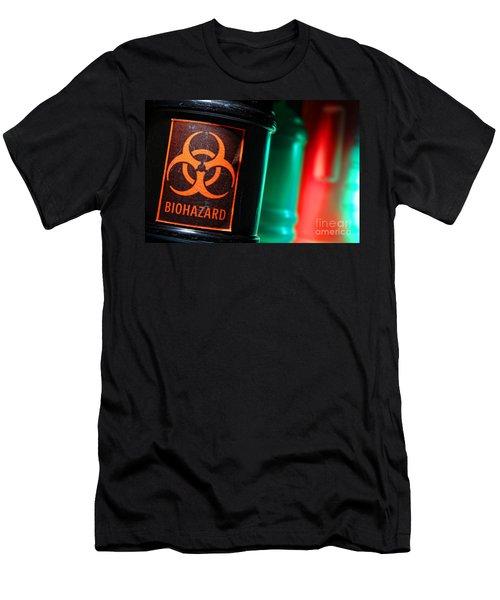 Biohazard Men's T-Shirt (Athletic Fit)
