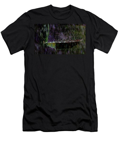Bird Bath Explosion Men's T-Shirt (Athletic Fit)