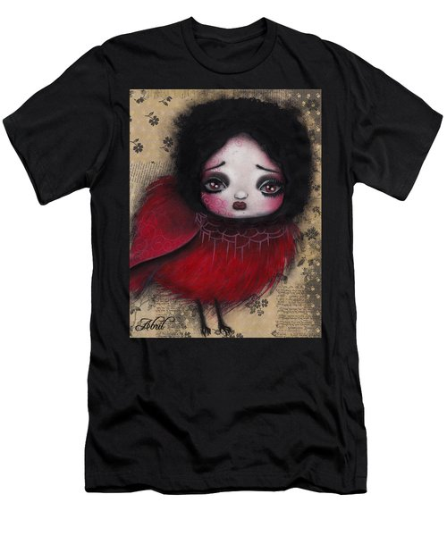Bird Girl #1 Men's T-Shirt (Slim Fit) by Abril Andrade Griffith